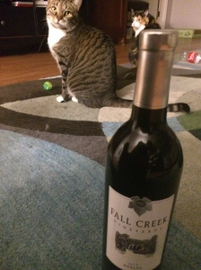 Some Cat with your Wine?